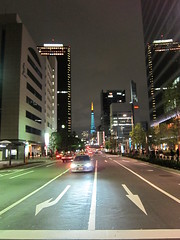 Tokyo Tower seen from Shiodome -1