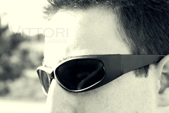 (iBlink Photos) Tags: portrait black reflection sunglasses self canon promo monotone sp iblink