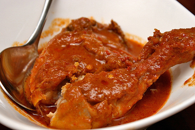 Ayam Masak Merah (S$5.50) - Red Chicken Gravy