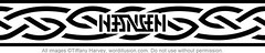 """Hansen"" Ambigram Armband"