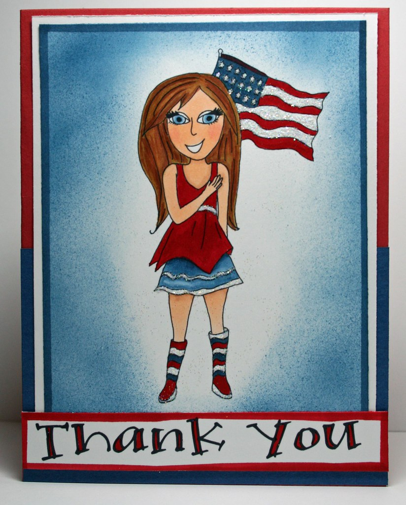 Memorial Day Thank You Card