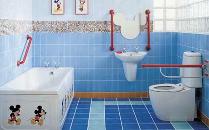 banheiro decoração infantil