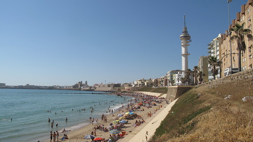 Cadiz Beach, panorama 1