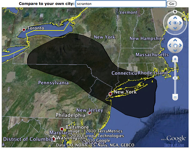 Oil Spill 06/02/10 - PA & NY