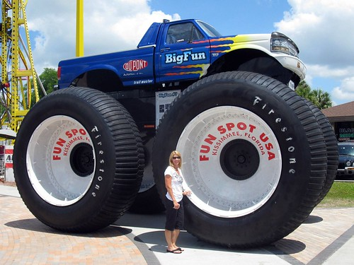 Monster Truck Big Foot #7 by Shoestring Weekends