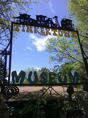Tinkertown Museum in Sandia Crest, NM.