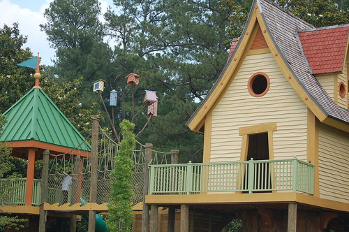 Treehouses, My Big Backyard at the Memphis Botanic Gardens