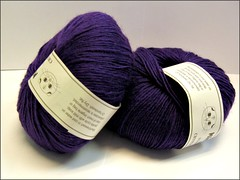 Mini Mochi yarn, purple