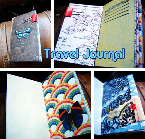 Handbound Travel Journal