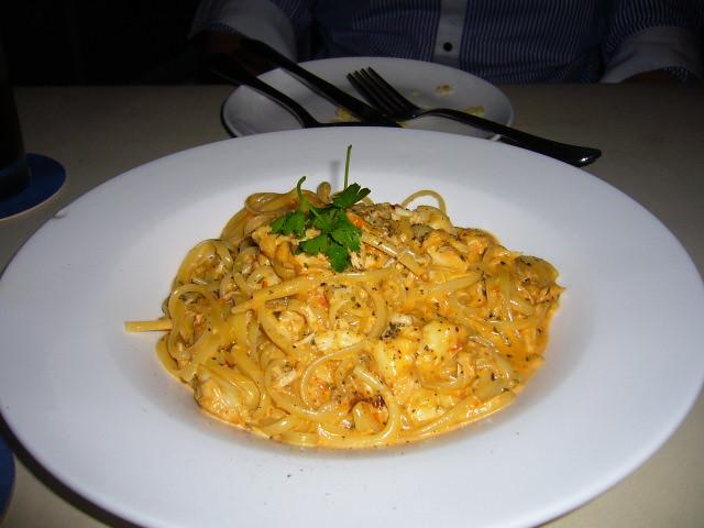 La Cantina: Crabmeat Linguine