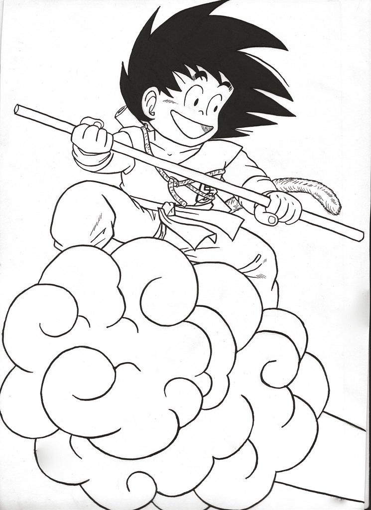 The Worlds Best Photos Of Dessin And Goku Flickr Hive Mind