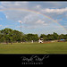 Rainbow over Suggs Field in Lake Jackson, Tx - Brazoswood Babe Ruth Baseball