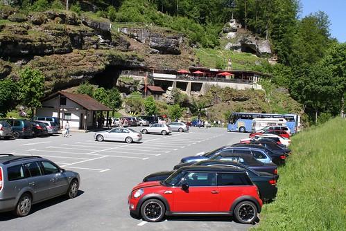Tropfsteinhöhle  Teufelshöhle Pottenstein