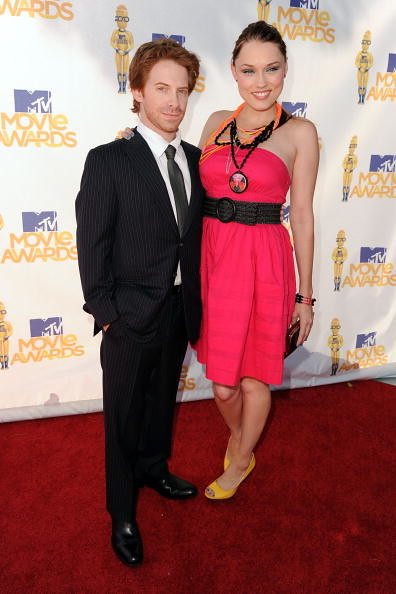 MTV Movie Awards 2010 Seth Green esposa Clare Grant