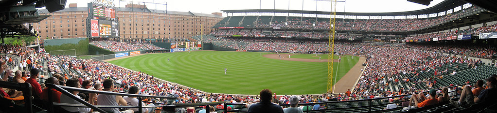 Camden Yards - Home of the Baltimore Orioles