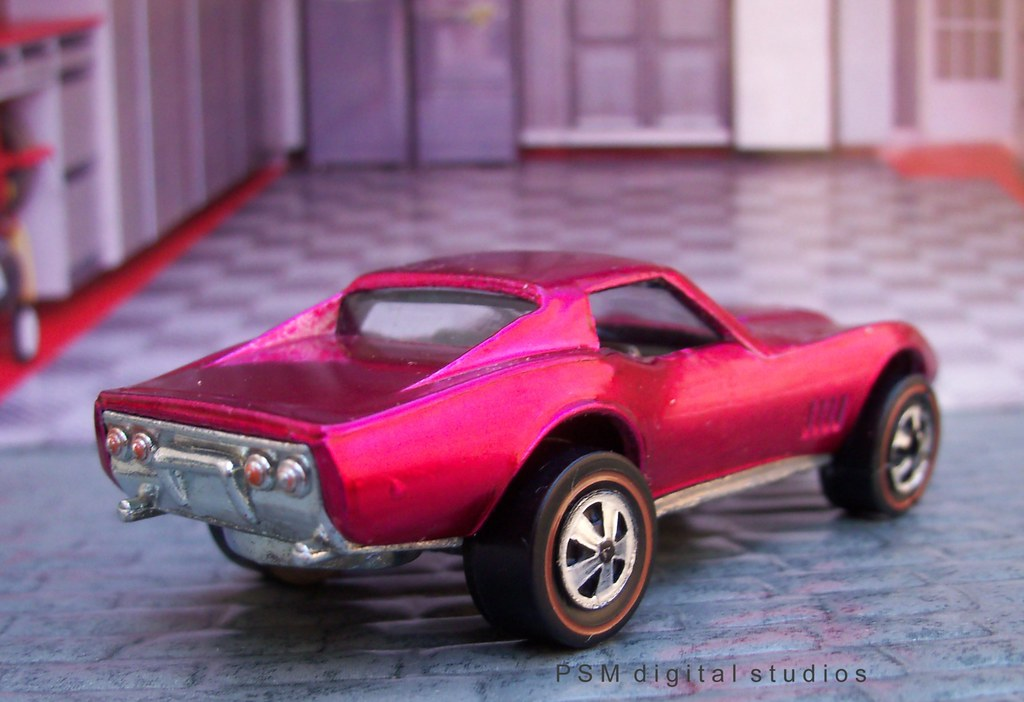 1968 Mattel Hot Wheels Custom Corvette
