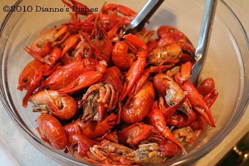 Crawfish Gumbo: Steamed Crawfish