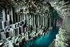 Fingal's Cave (gms) Tags: sea inspiration dark island scotland hexagonal cave isle staffa fingalscave mendelssohn fingal hebridesoverture