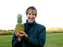 Director of Happiness and her pineapple
