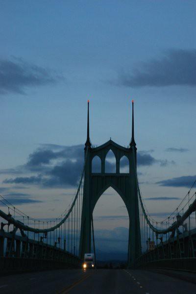 © Colleen Hilman - St. John's Bridge, Portland, OR