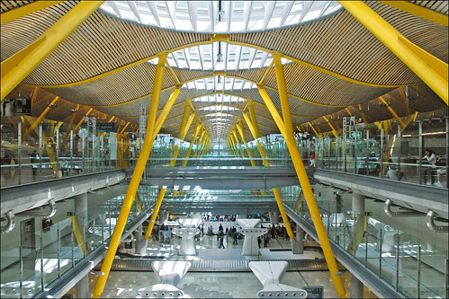 Barajas Airport (Madrid) by dalbera, on Flickr