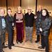 David Porter, Sue Hunt, Victoria Harbutt, John Kirkman, John Pinder and Vernon Treweeke