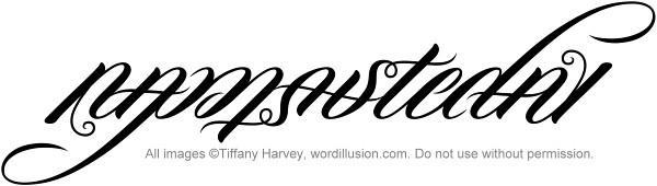 """""""Namaste Day"""" Ambigram"""