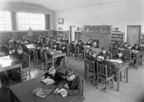 Brunswick Technical School - Library 1936