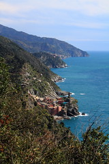 First Glimpse of Vernazza (arsheffield) Tags: italy cinqueterre italianriviera