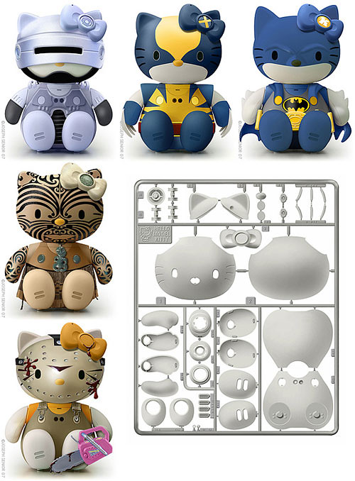 Hello-Kitty-Model-Kit-3
