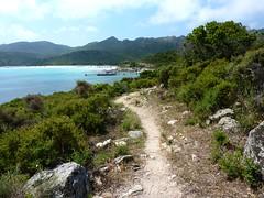 Embarcadère et plage du Lotu