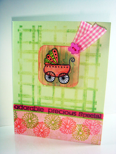 Paula's baby card