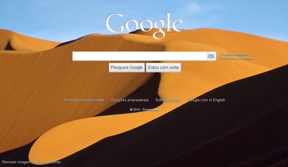 google, imagem de fundo
