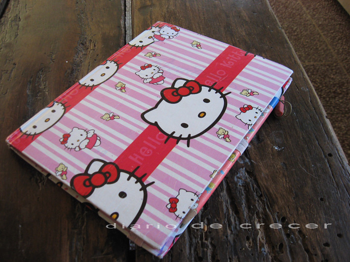 cuaderno kitty