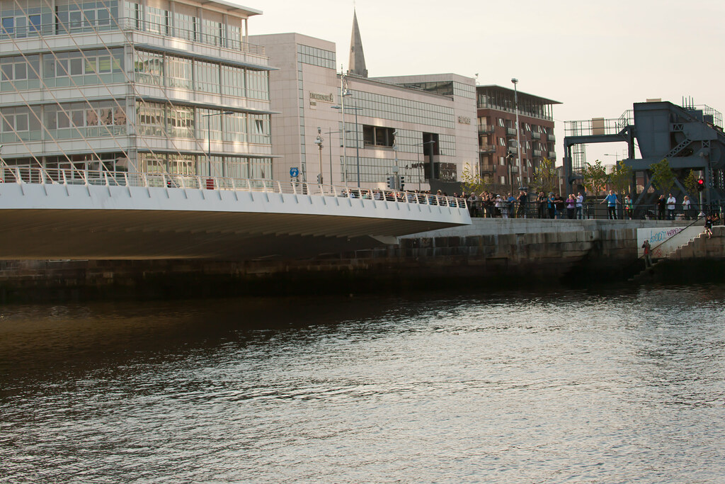 The Samuel Beckett Bridge - Dublin Docklands