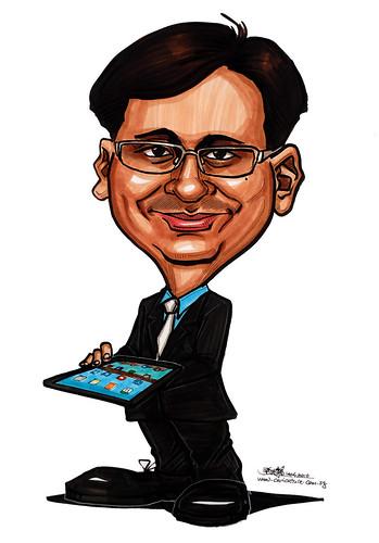 Caricatures for NUS - IT Geek