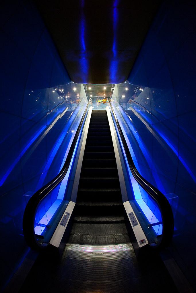 Barcelone - Escalator