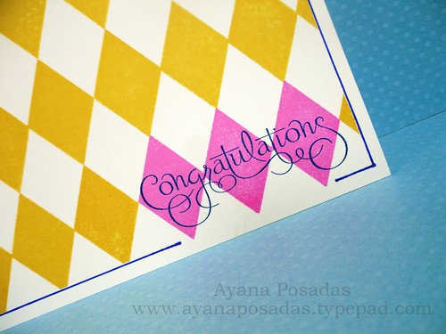 Argyle Congrats One Layer (3)