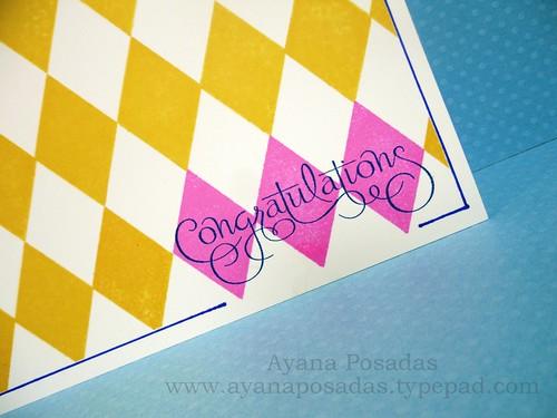 Argyle Congrats One Layer (3)