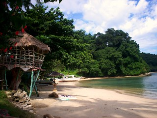quiet beach, Mindoro, Philippines 2