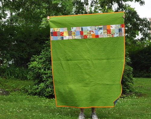 Daniel's Big-Boy Quilt - back