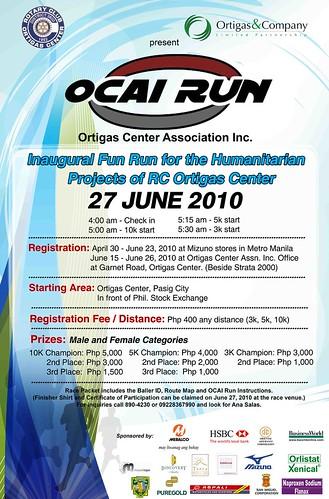 OCAI Run 2010