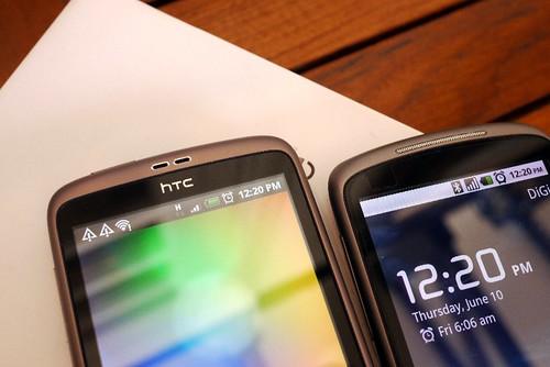 HTC Desire n Nexus 1 speaker