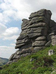 Sharp Tor Chinkwell Dartmoor SX 728781 (Bridgemarker Tim) Tags: faces stones dartmoor tors rockpiles outcrops lesserknown chinkwell