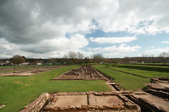 What the Romans did for us (Andrew J Murray) Tags: southwales wales clouds ruins roman military newport barracks remains romans gwent caerleon