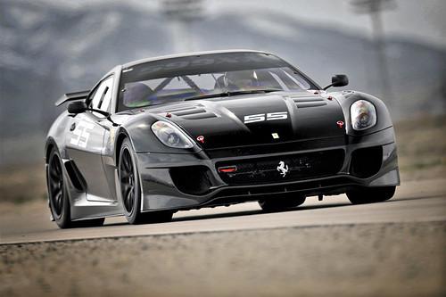 KENNOL - Scott TUCKER driving Ferrari 599XX