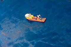 Lost in the Deep Blue Sea (Kris Krug) Tags: ted gulfofmexico slick gulf pollution oil environment bp spill oilslick oilspill gulfcoast britishpetroleum tedx oilspew oilspillbp tedxoilspill