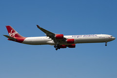 G-VRED - 768 - Virgin Atlantic Airways - Airbus A340-642 - 100617 - Heathrow - Steven Gray - IMG_5058