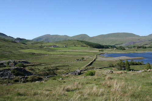 Quarry workings near Rhyd Ddu