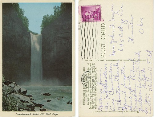 Taughannock Falls (Front & Back)